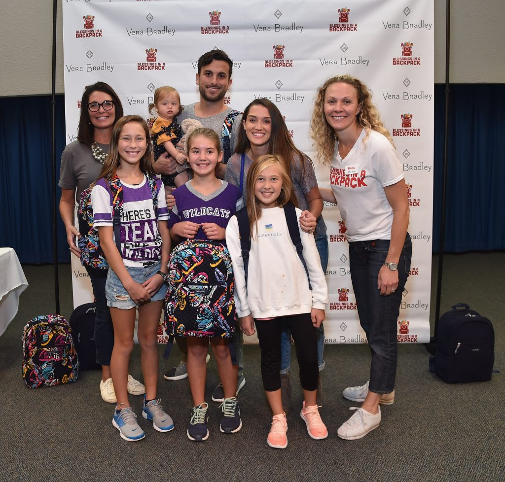Vera Bradley Partners With Blessings In A Backpack To Continue Back-To-School Philanthropy Tour With Jade And Tanner Tolbert