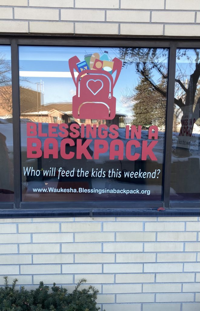 Waukesha office of Blessings in a Backpack