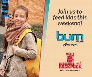Burn Waukesha + Blessings in a Backpack image