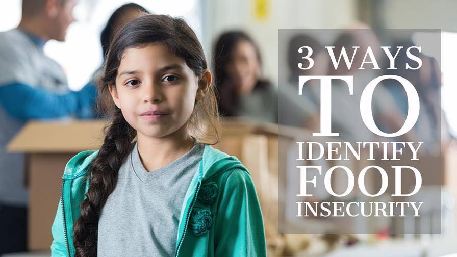 How do you know if a child is facing food insecurity?