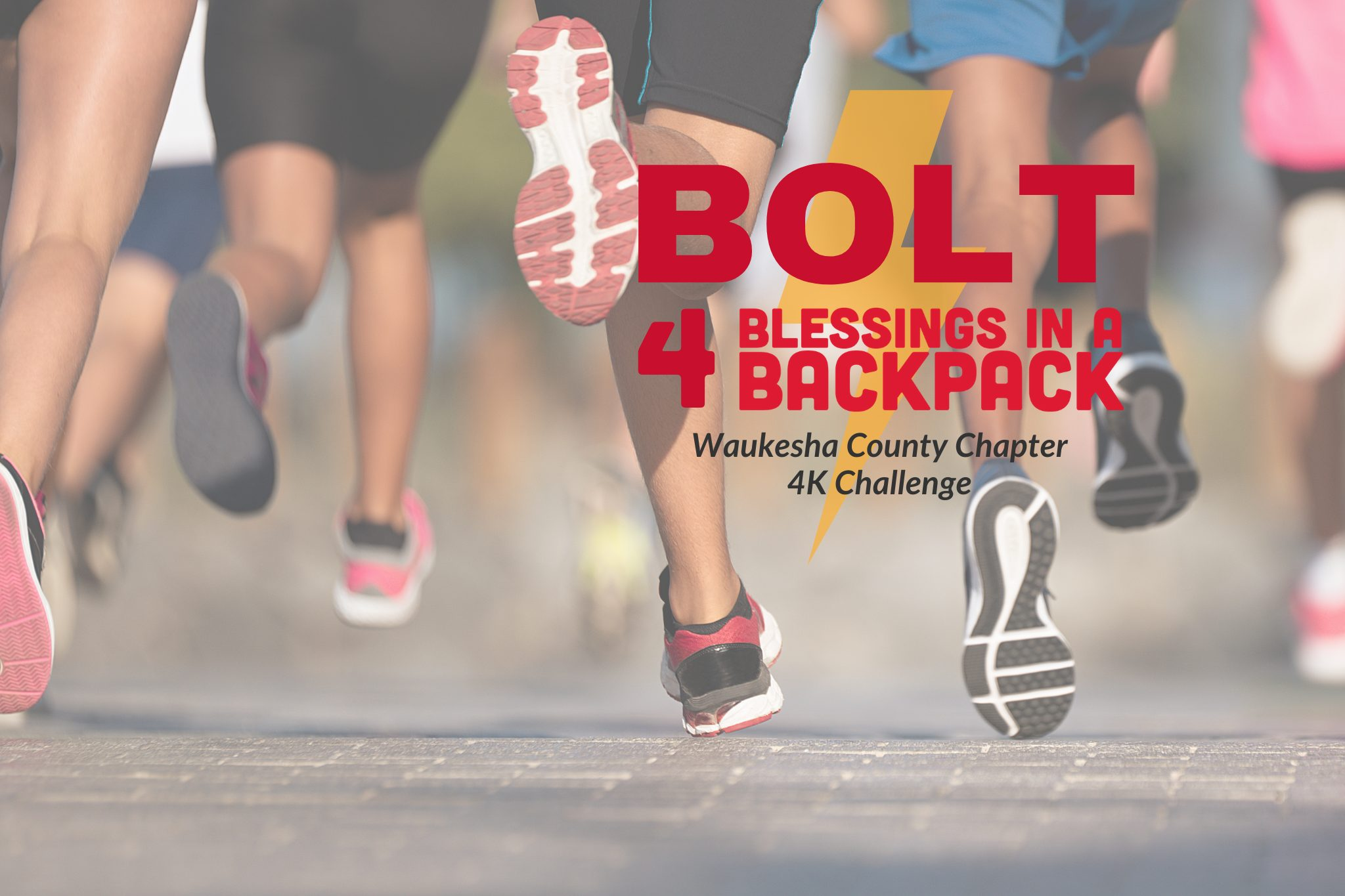 Bolt for Blessings in a Backpack