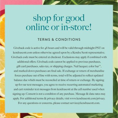 Shop for Good Front
